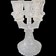 SOLD Hofbauer Byrdes Crystal Candelabra