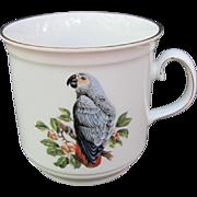 Vintage African Grey Mug Bavaria Germany