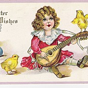 """Easter Wishes"" - Child - Baby Chicks - Mandolin"
