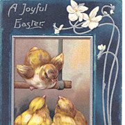 A Joyful Easter - Baby Chicks