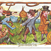 Hallowe'en - Vegetable People Dancing with Real People