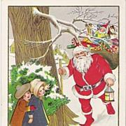 """A Merry Christmas"" - Santa Claus & Toys - Children"