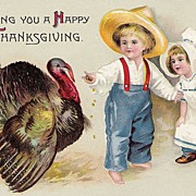 Wishing You A Happy Thanksgiving - Children - Turkey