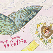 """Be My Valentine"" - Butterfly"