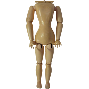 Very Nice Kestner Ball Jointed Composition Lady Body