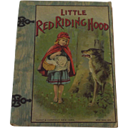 SOLD 1916 Little Red Riding Hood Storybook by Hurst & Company