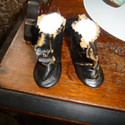 Antique doll boots or shoes