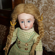 Darling mohair doll wig for character face