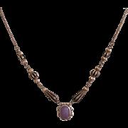 Jade lavender Jadeite pendant sterling silver