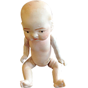All Bisque Jointed Baby Doll