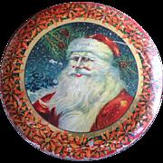 Tindeco Santa Claus Candy Tin