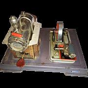 Vintage Wilesco Toy Steam Engine