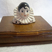 SOLD PIerrot Playing Cards Box