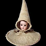Antique Bisque Head Doll Centerpiece