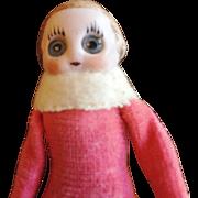 Googly Eye Kestner Doll Christmas Ornament