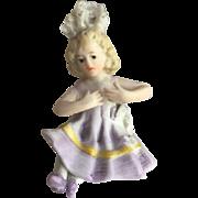 Miniature Piano Baby Bathing Beauty Figurine