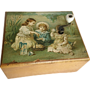 Victorian Child or Doll Size Music Box