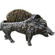 Wild Boar Figural Pen Wipe Brush