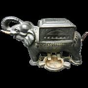 Cast Iron elephant cigarette dispenser