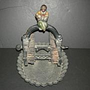 Black Memorabilia Cast Iron Boot Jack