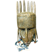Marka Mask of Mali in West Africa