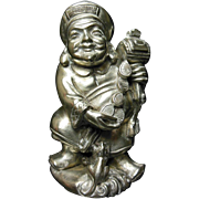 Japanese Sterling Silver Figurine