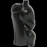 Shawnee American Pottery Head Vase – Giraffe & Calf