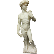 """David"" Marble Sculpture by Tucci"