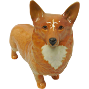 Beswick English Pottery Statue of Corgi Dog