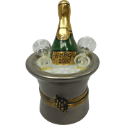 Limoges Champagne Bucket Box
