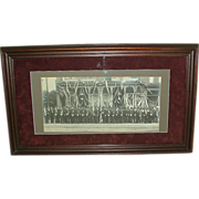 REDUCED Fantastic Civil War Veterans of Pottstown,Pa. G.A.R. Group Photo in front ...