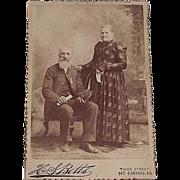 "REDUCED Civil War Veteran Studio Photo of David Morgan in G.A.R. Uniform "" Shamokin,Pa. L"