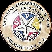 REDUCED 44th National Encampment 1910 Civil War Veterans U.V.U. Dated Sept. 19,20,21,22,23. At
