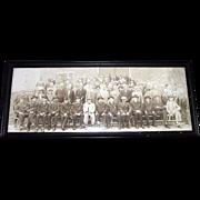 "REDUCED Civil War Captain Joseph T. Tomkins Veterans Group Photo titled ""G.A.R. Diner Clu"