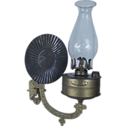 "REDUCED Restored Early model ""Bradley's Factory Security Lamp"" tag marked  & """
