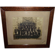 REDUCED Original Photo of Civil War Veterans Group from West Chester,Pa. G.A.R ...