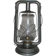 "REDUCED Near Mint ""PAULL'S LEADER No 0"" Lantern with Original marked Globe ! Circa 1"
