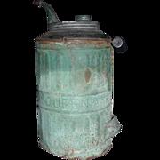 "REDUCED ""Queen"" Model Kerosene Jug patented 1878."