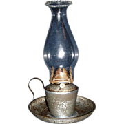 REDUCED Explosion-Proof Chamber Lamp with Saucer Base and a Jug Handle, Salch's Patent ...