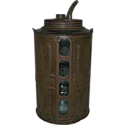 "REDUCED ""Queen"" Model Kerosene Jug Patent Dated 1878 !"