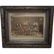 REDUCED Rare Lehigh Valley Railroad Car Inspectors Group Photo in Mauch Chunk,Pa. (present day