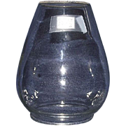 SOLD Railroad Lantern Globe  size is 5 3/4 High Circa 1900.