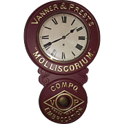 "REDUCED ""Vanner & Prest's * Molliscorium * Compo Embrocation Trade Mark"" Adverti"