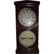 "REDUCED Rare Seth Thomas ""Office # 2 Regulator & Calendar""  with 14 inch Dials &"