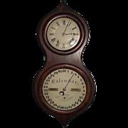 "SOLD Rare Civil War Period ""Seth Thomas Office # 3 Calendar Clock"" in a Rosewood Cas"