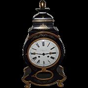 "REDUCED Signed ""G. Billian u. fils Zuriche"" Swiss Neuchatel Mantle Clock with Large"