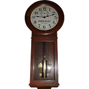 "Authentic ""Pennsylvania Railroad"" marked Seth Thomas # 2 Wall Regulator Clock in Sup"