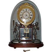 "Rare ""Crystal Palace No. 1 Extra"" Model Mantle Clock made by Ansonia, with the Original .."