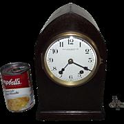"SOLD Rare ""Bailey,Banks & Biddle Co. Philadelphia"" Mantle Clock with Rare 15 Day Set"