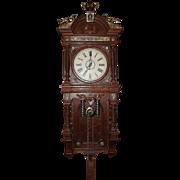 "SALE PENDING Rare Waterbury ""Augusta"" Free Swing Pendulum Model Clock in a Near Mint"